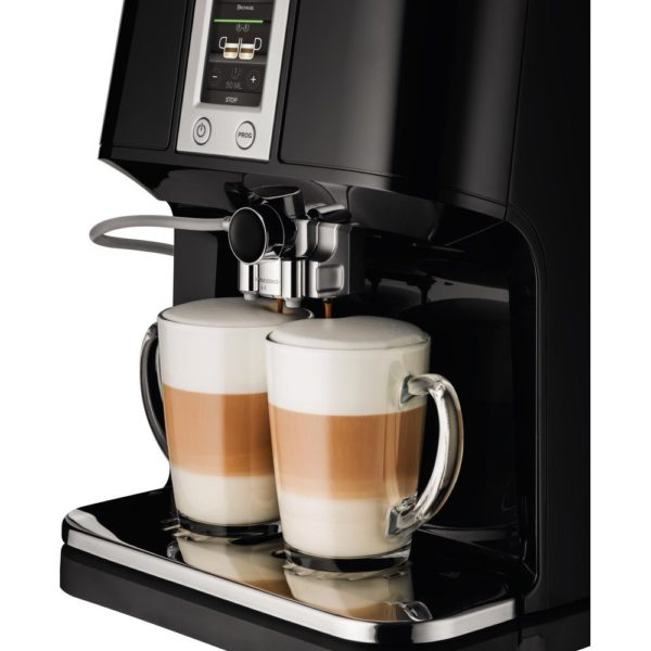 KRUPS EA8808 2-IN-1 Touch Cappuccino Super Automatic Espresso Machine, 57-Ounce, Black 2